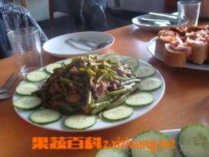 扁豆炒肉的做法步骤